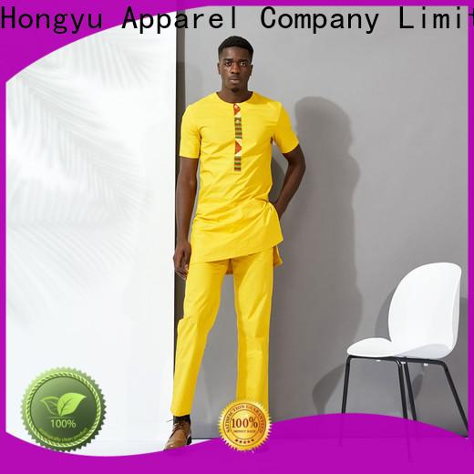 HongYu Apparel mens polo shirts short home