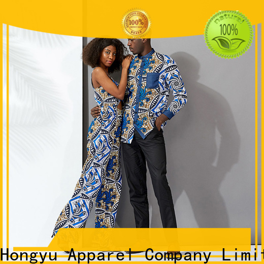 HongYu Apparel couple wear men