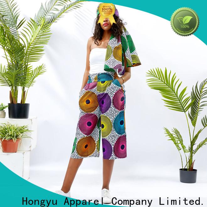 HongYu Apparel casual pants for women design mall