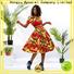 crop african print two piece dresses women travel
