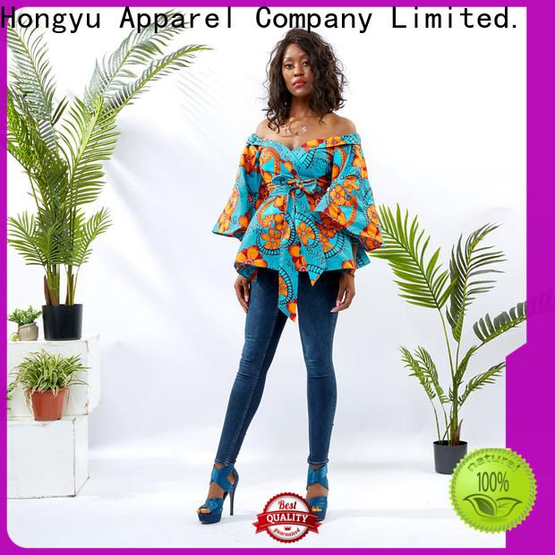 HongYu Apparel women top ladies mall