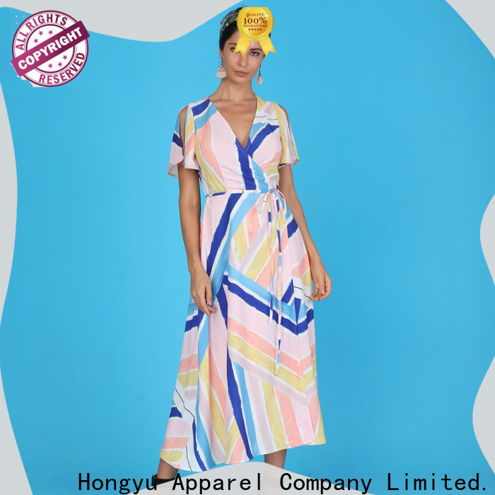HongYu Apparel sequin wholesale dresses women mall