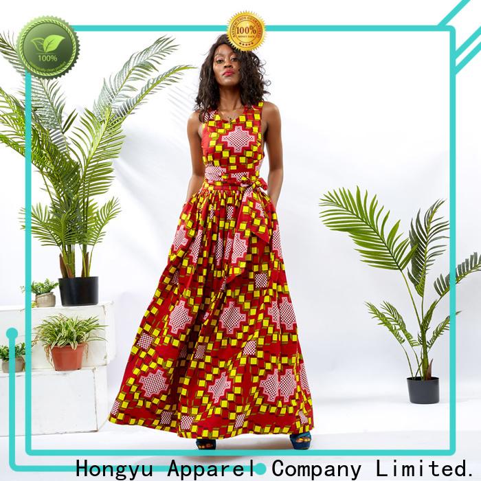 HongYu Apparel african dresses for women shoulder reception