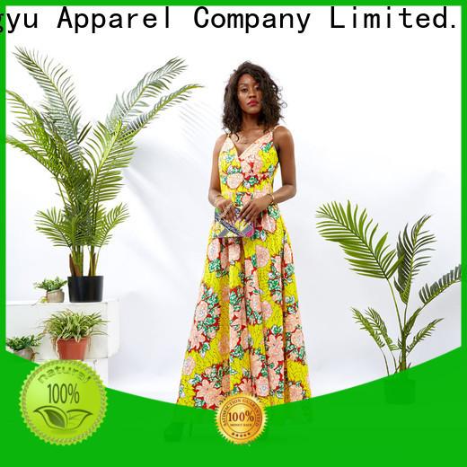 print custom dress women reception