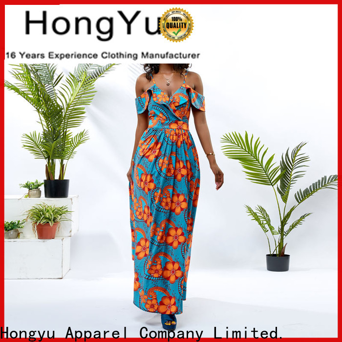 HongYu Apparel maxi african dresses for girls women mall