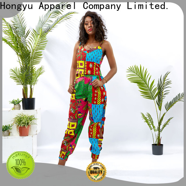 HongYu Apparel two piece short set skirt africa
