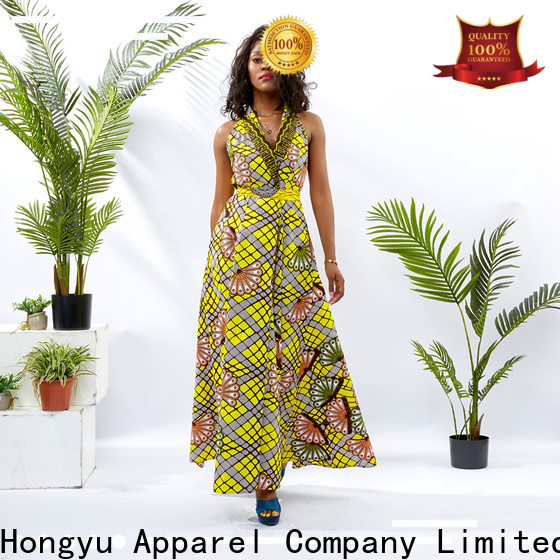 HongYu Apparel trendy clothes for women off reception