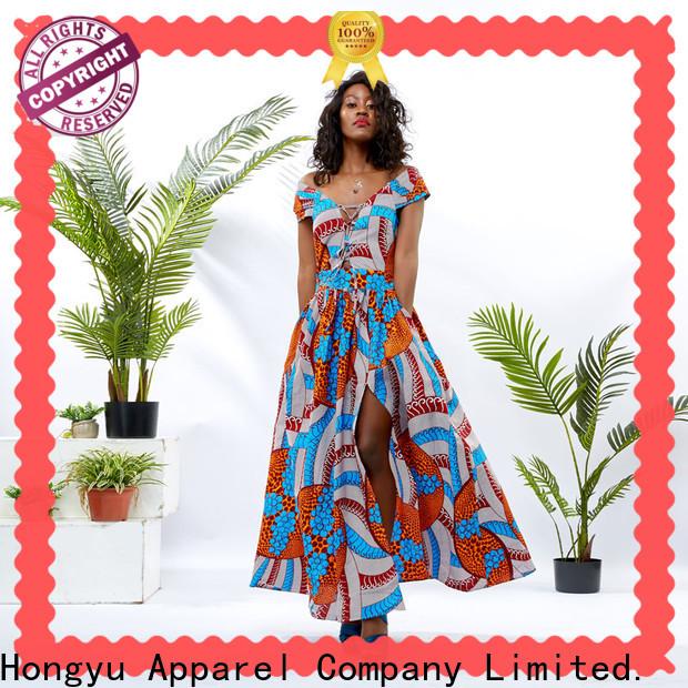 HongYu Apparel trim trendy clothes for women shoulder africa