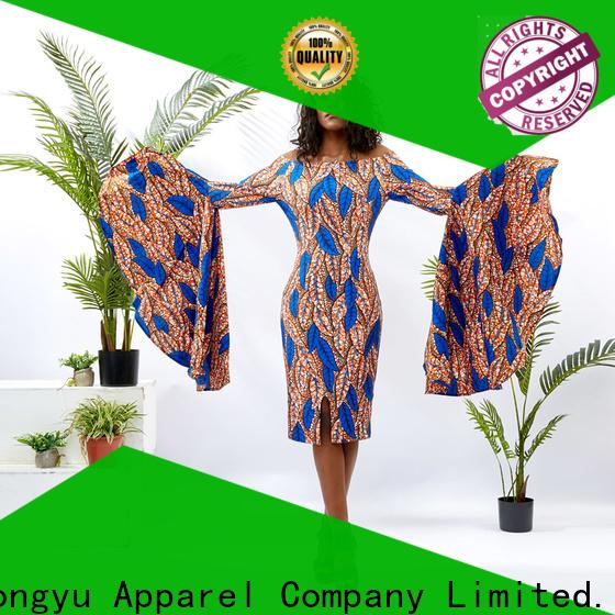 HongYu Apparel trim ladies dress women mall