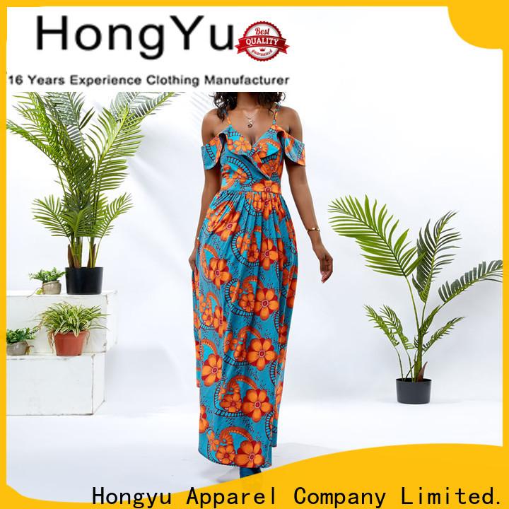HongYu Apparel cotton dress women africa