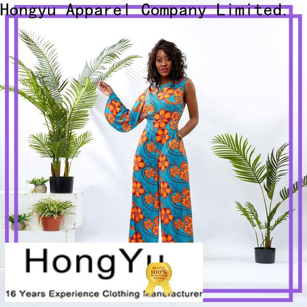 HongYu Apparel ladies jumpsuits design africa