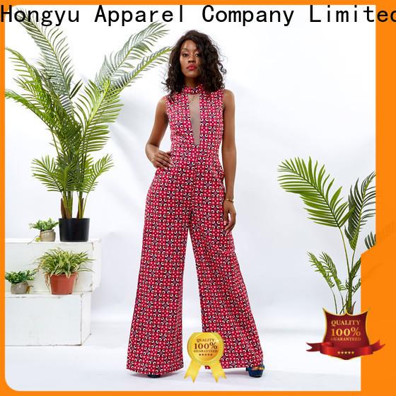 HongYu Apparel dressy jumpsuits for women design africa