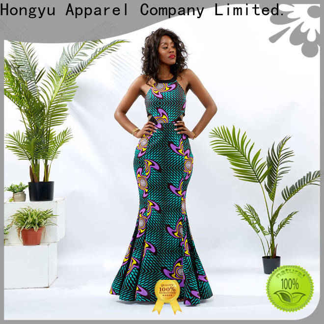 HongYu Apparel african print dresses for ladies off africa