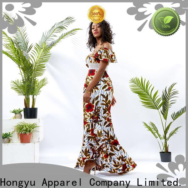HongYu Apparel midi wholesale dress women africa
