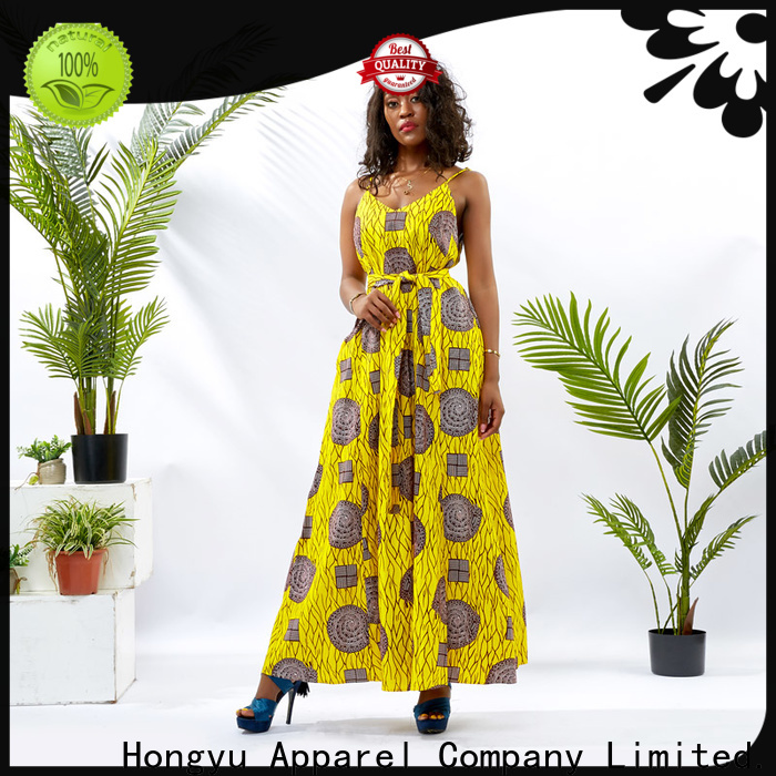 HongYu Apparel pieces african fashion dresses shoulder reception