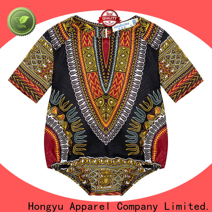HongYu Apparel kids summer clothes top boys