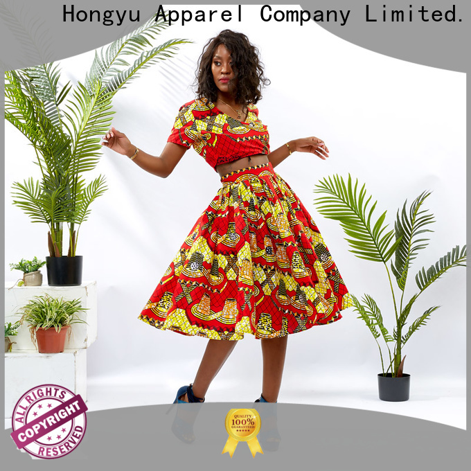 HongYu Apparel two piece dresses girls women
