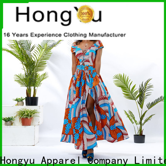 HongYu Apparel african dresses for ladies off africa