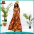 HongYu Apparel ankara african print dress designs shoulder africa