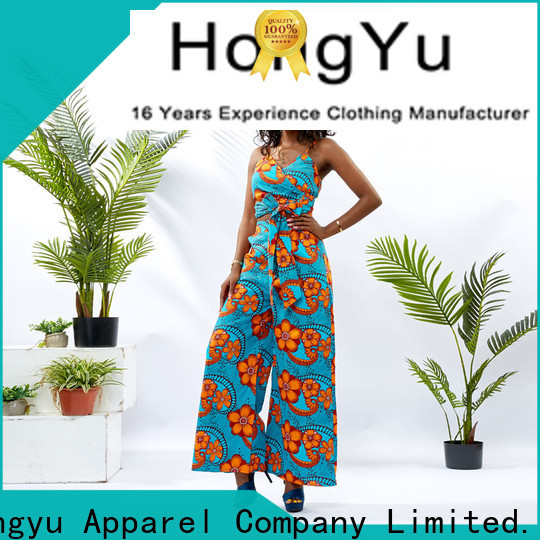 HongYu Apparel two piece skirt set girls women