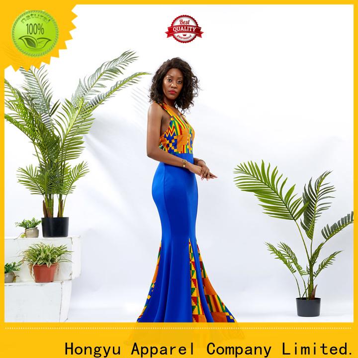 HongYu Apparel african dresses design women reception