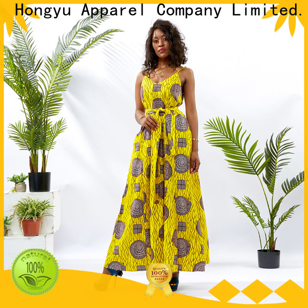 HongYu Apparel african dresses for women floor reception