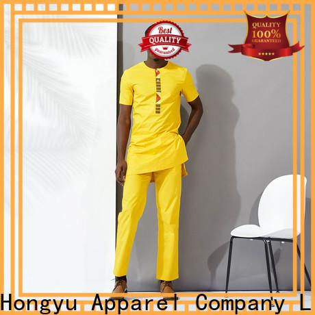 HongYu Apparel mens polo shirts clothes work