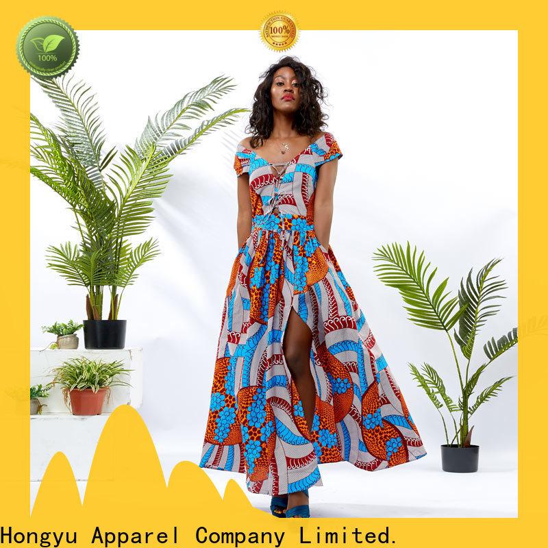 HongYu Apparel stylish dress for women floor mall