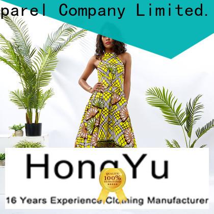 floral african print dresses women africa