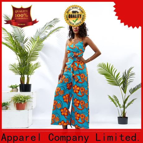 HongYu Apparel african print two piece dresses print women