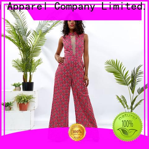 HongYu Apparel print one shoulder jumpsuit romper africa