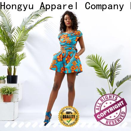 HongYu Apparel ankara casual jumpsuits service travel