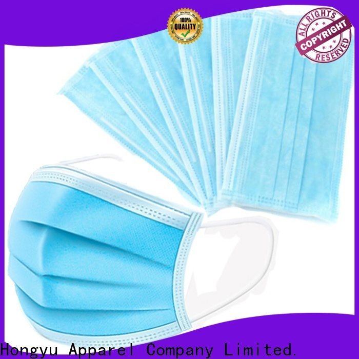 HongYu Apparel disposable medical face mask for women for hospital