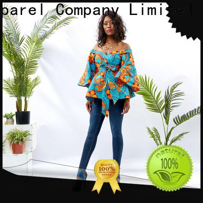 HongYu Apparel tunic ladies tunic tops women africa