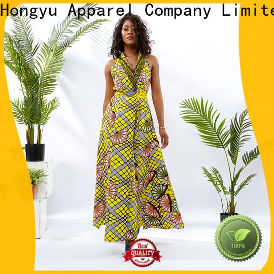 HongYu Apparel lace stylish dress off reception