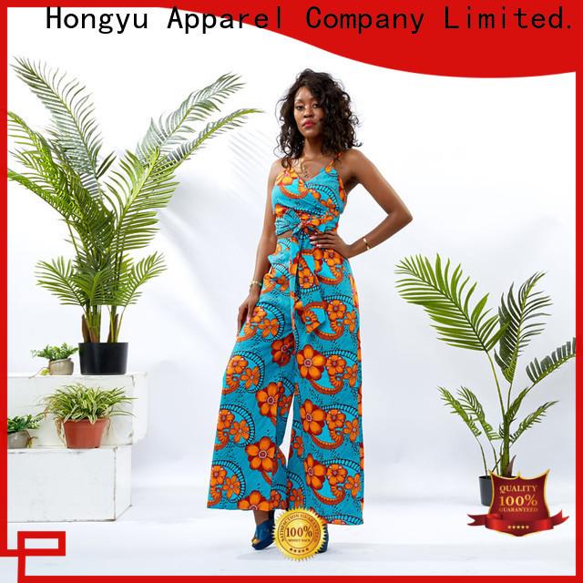 HongYu Apparel two piece dresses women africa