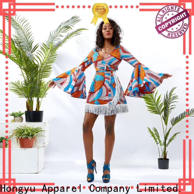 floral pretty dresses for women shoulder africa
