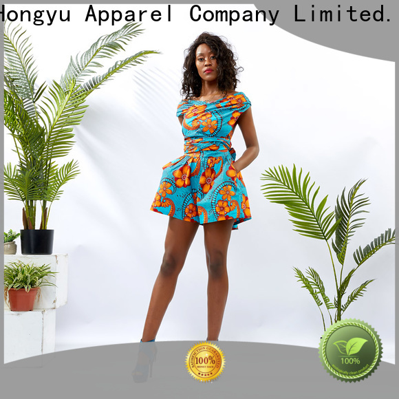 customize summer jumpsuits for women romper africa