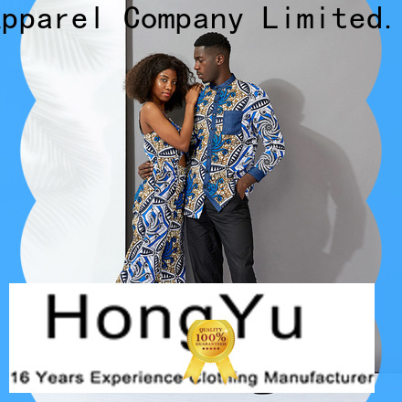 HongYu Apparel customized couple hoodies couples