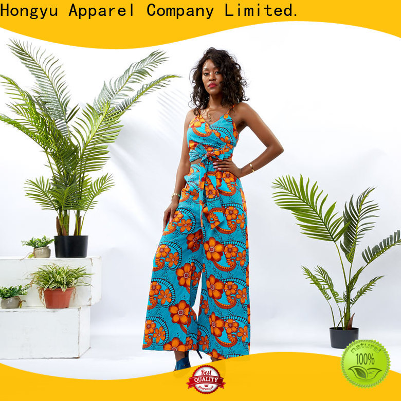 HongYu Apparel two piece skirt and top girls africa
