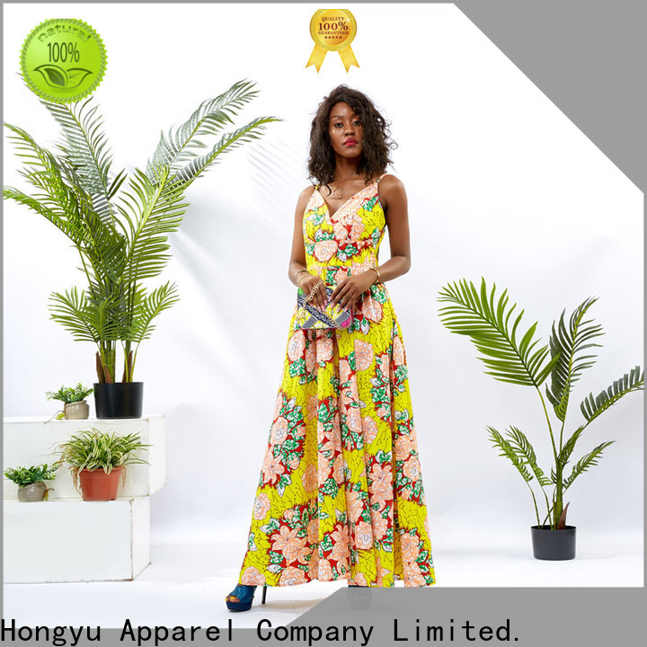 HongYu Apparel pieces african dresses for ladies wholesale reception