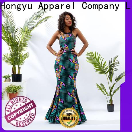 HongYu Apparel wrap formal bodycon dresses service reception