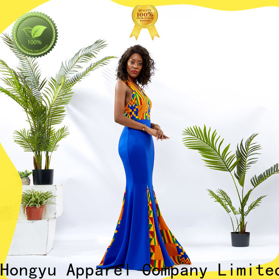 HongYu Apparel backless casual dress clothes service mall