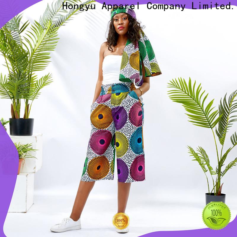 HongYu Apparel casual dress pants womens wholesale travel