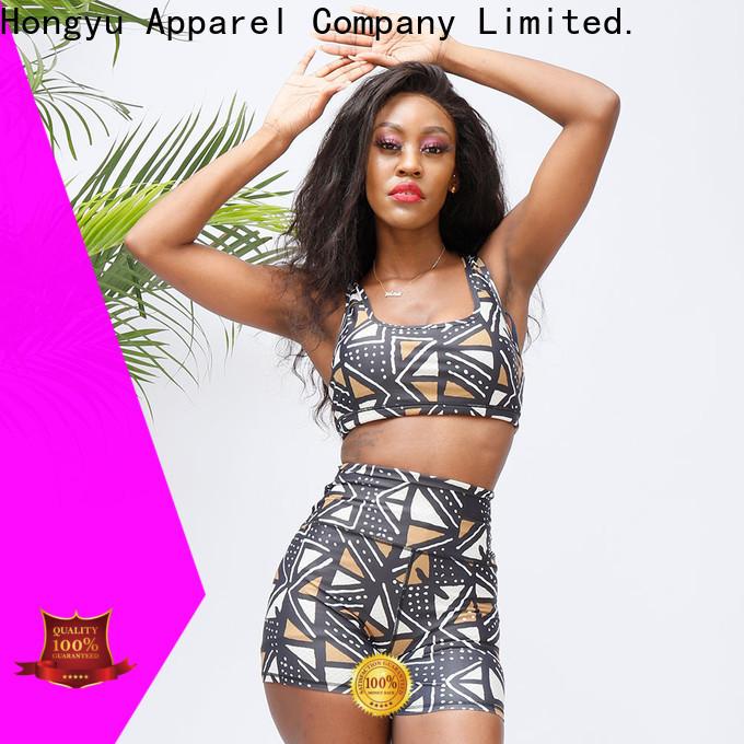 HongYu Apparel female gym wear for sale for women