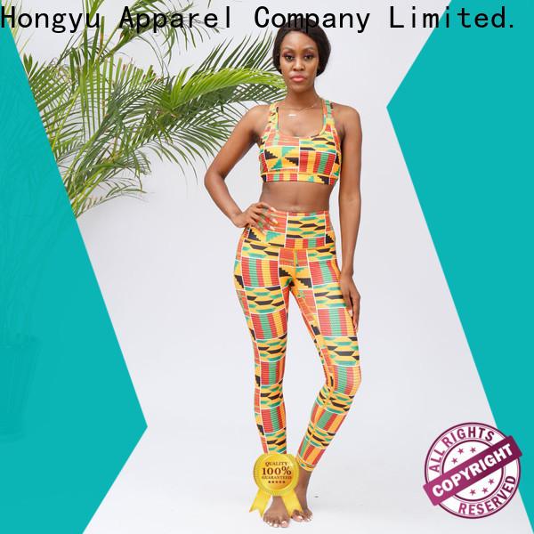 HongYu Apparel high quality medium support sports bra manufacturer for man