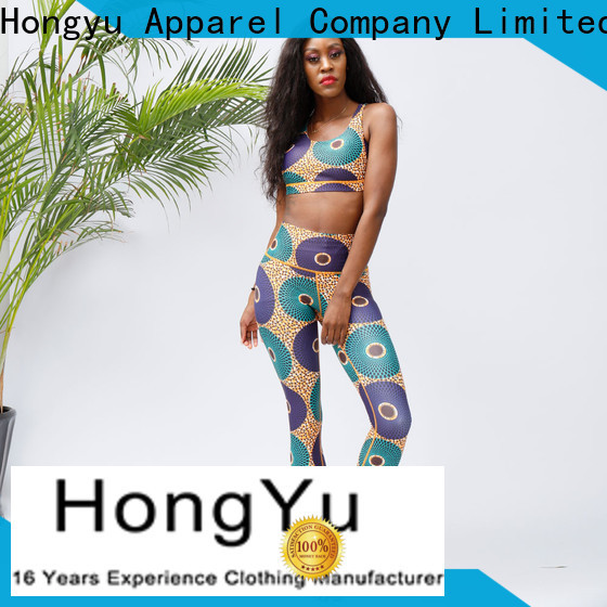 HongYu Apparel trendy gym wear manufacturer for kids