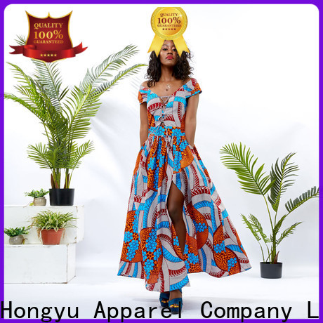 HongYu Apparel simple african dresses service mall