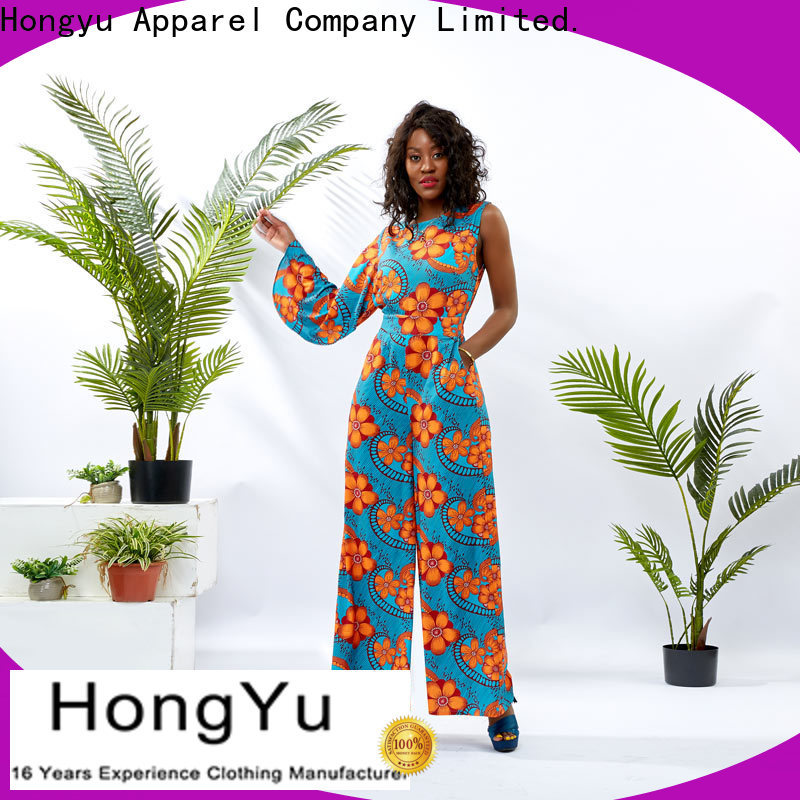 HongYu Apparel summer jumpsuits for women romper travel