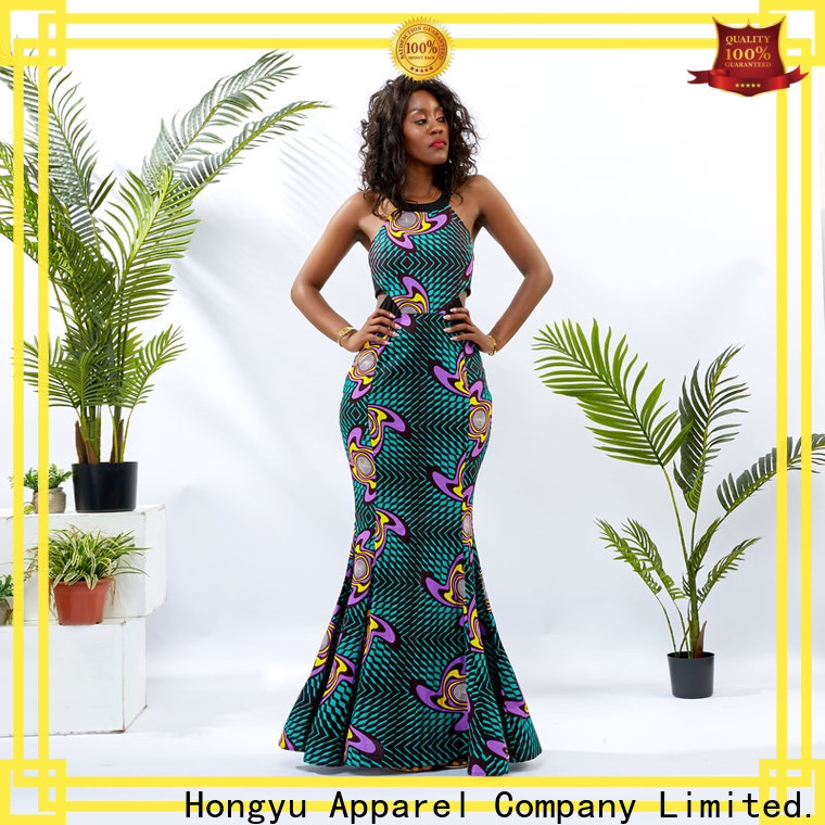 HongYu Apparel maxi dresses for women design africa